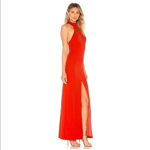 REVOLVE House Of Harlow 1960 Red Slit Dress Gown S